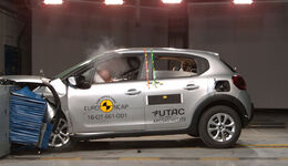 EuroNCAP Crashtest 2017 Citroen C3