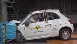 EuroNCAP Crashtest 2017 Fiat 500