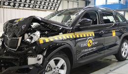 EuroNCAP-Crashtest 2017 Skoda Kodiaq