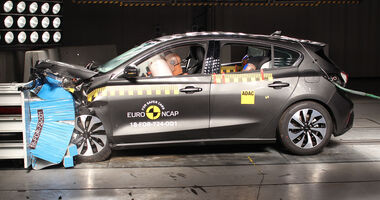 EuroNCAP Crashtest 2018 Ford Focus