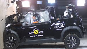 EuroNCAP Crashtest Citroen E-Mehari