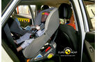 EuroNCAP-Crashtest Hyundai IX35, Kindersitz-Crashtest