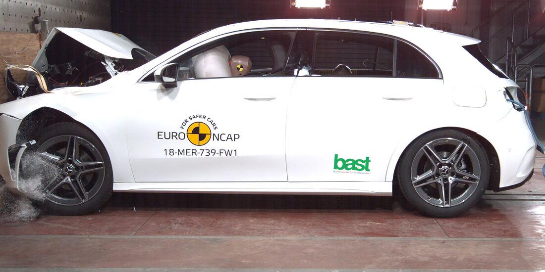 EuroNCAP Crashtest Mercedes A-Klasse