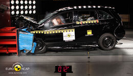 EuroNCAP-Crashtest Mercedes B-Klasse