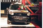 EuroNCAP-Crashtest, Nissan Micra, Pfahl-Crashtest
