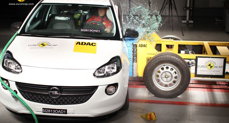 EuroNCAP-Crashtest, Opel Adam