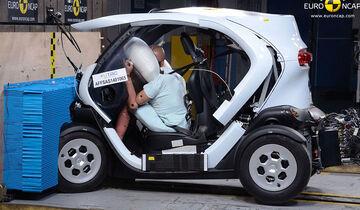 EuroNCAP Crashtest Renault Twizy