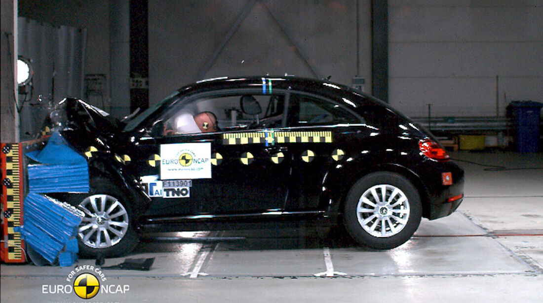EuroNCAP-Crashtest VW Beetle