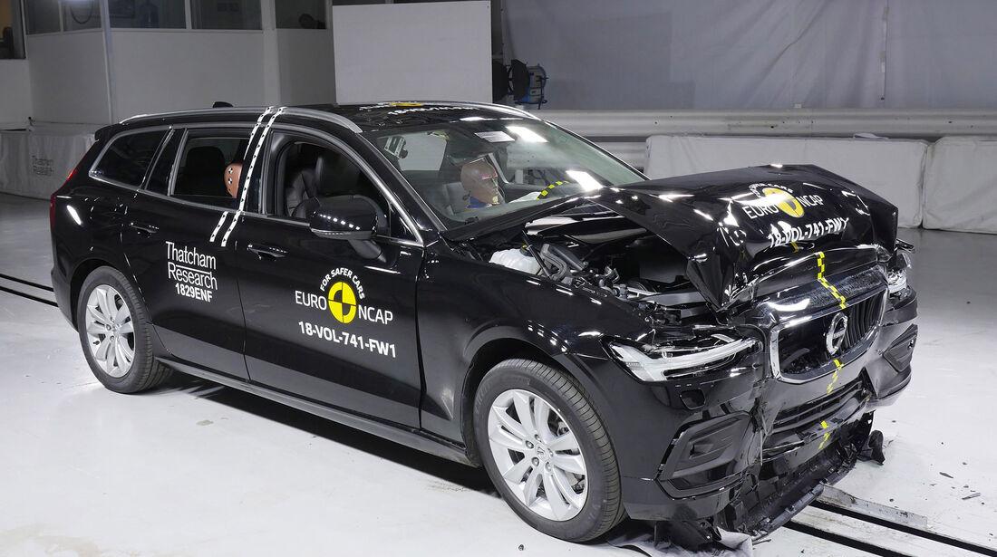 EuroNCAP Crashtest Volvo V60/S60