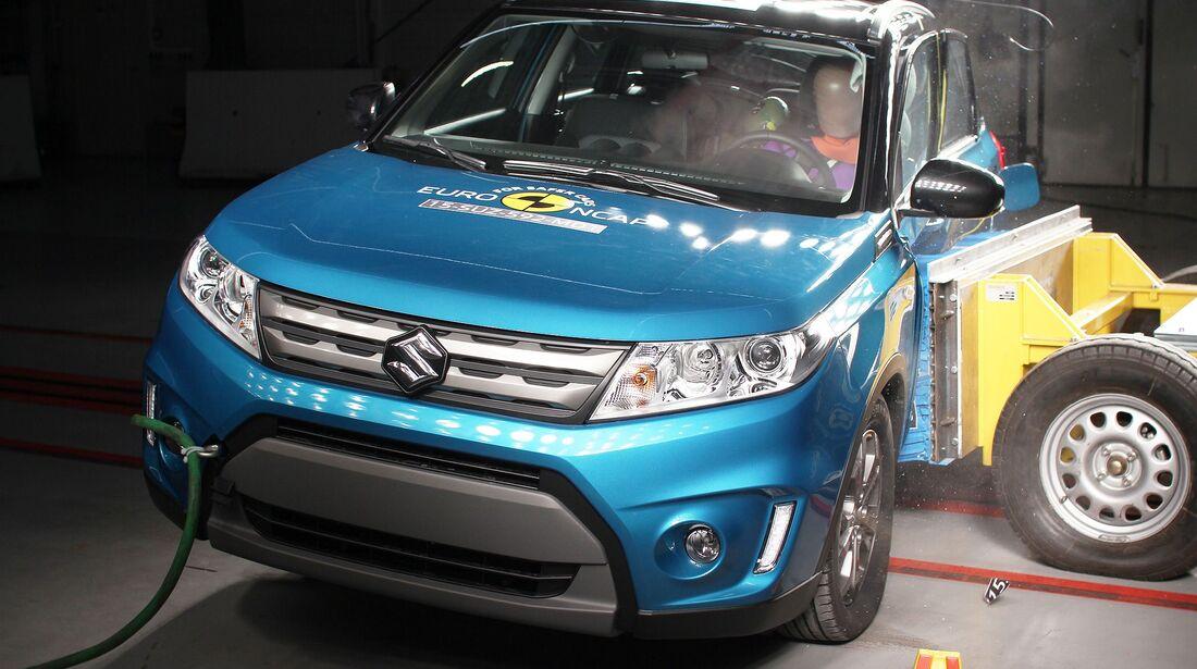 EuroNCAP Suzuki Vitara