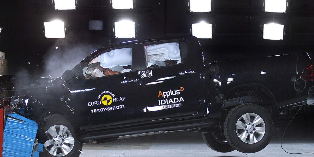 EuroNCAP Toyota Hilux