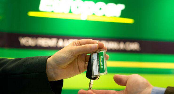 Europcar-Angebot für Budget-Kunden Angebot