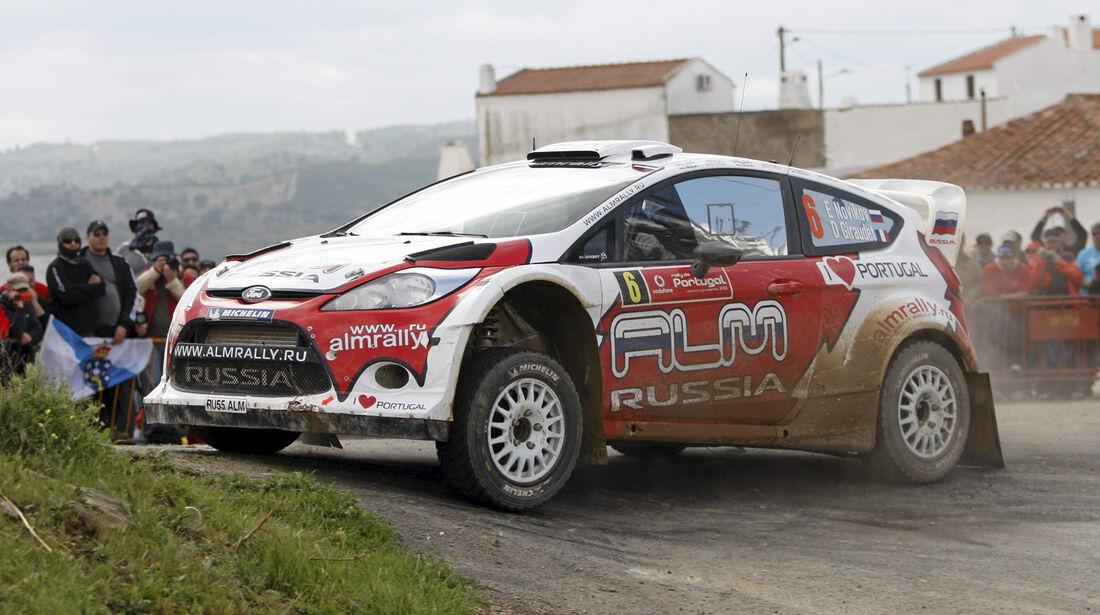 Evgenyi Novikov Ford Rallye Portugal 2012