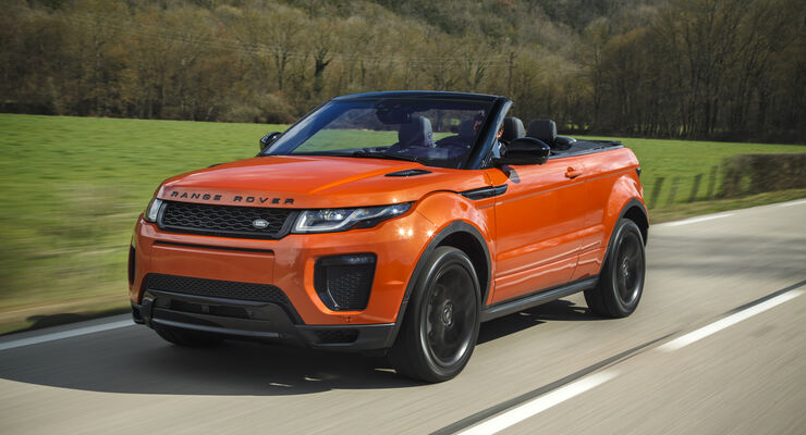 range rover evoque cabrio fahrbericht 2016 auto motor und sport. Black Bedroom Furniture Sets. Home Design Ideas