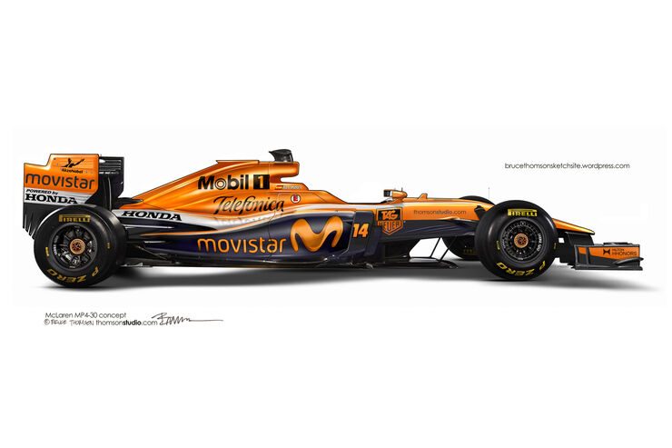 F1 Designs 2015 - McLaren - Bruce Thomson