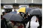 F1 Fans im Regen
