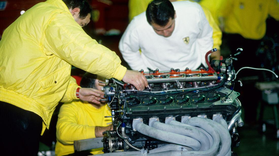 F1 Ferrari V12 1989