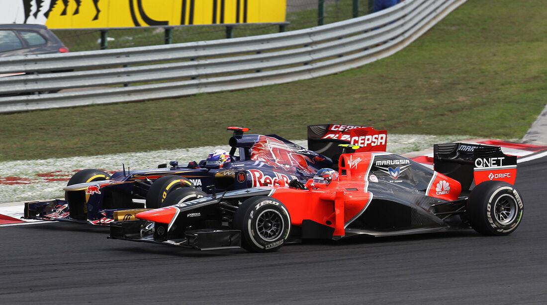 F1 Halbjahresbilanz ToroRosso 2012
