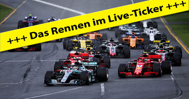 F1 - Live-Ticker - GP Australien 2018 - Melbourne