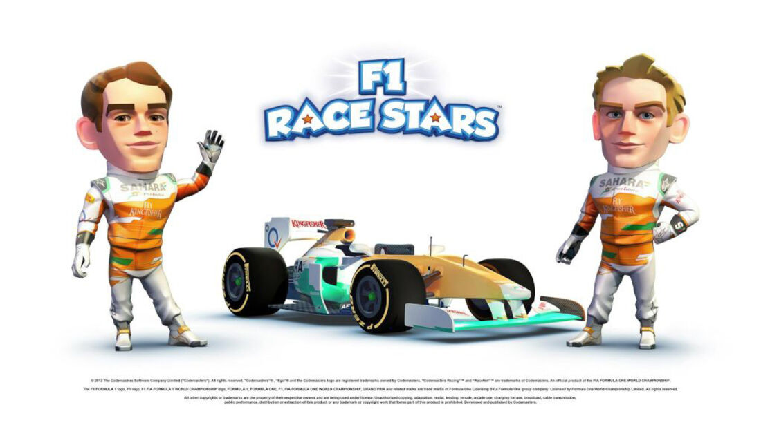 F1 Race Stars Game 2012 Force India