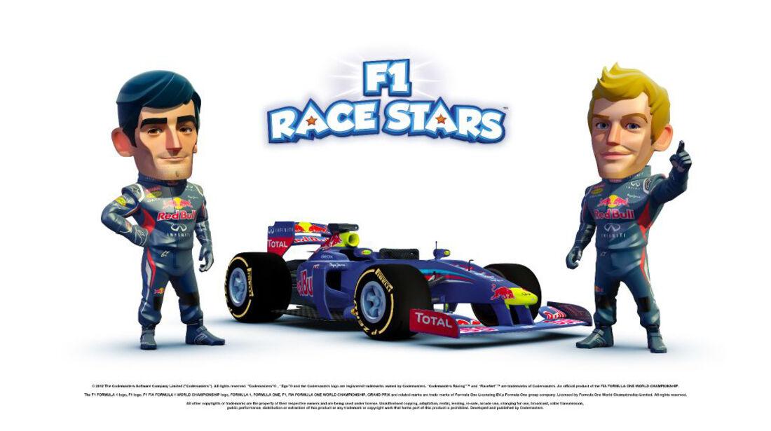 F1 Race Stars Game 2012 Red Bull