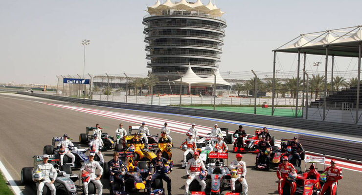 F1 Saison 2010