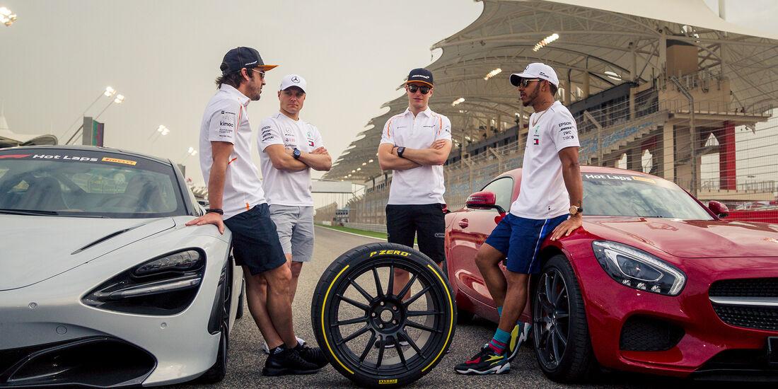 F1-Tagebuch - GP Bahrain 2018
