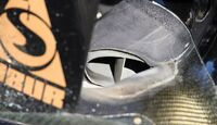 F1-Technik 2011 - Auspuff Renault
