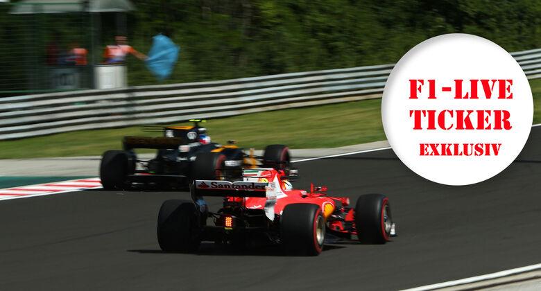 F1-Ticker - GP Ungarn 2017 - Training