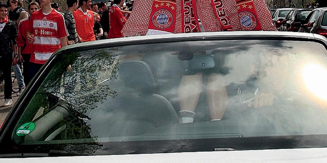 FC Bayern München Autokorso Audi