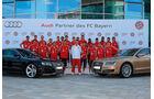 FC Bayern München, Fußballer und Autos, Audi RS5, Audi A8