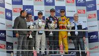FIA Formel 3 Europameisterschaft - Podest - Hockenheim - 1. Rennen - 10/2014