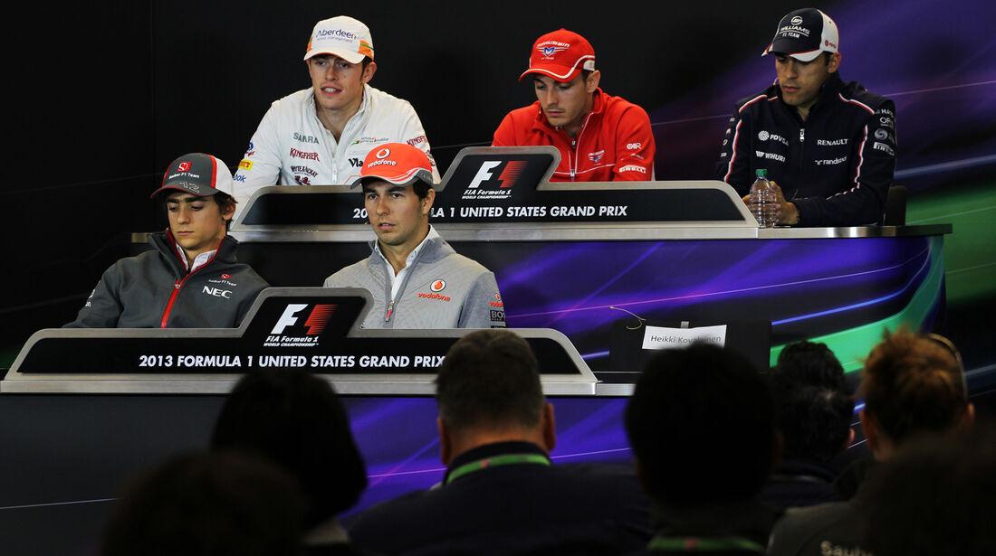 FIA-Pressekonferenz - Formel 1 - GP USA - 14. November 2013
