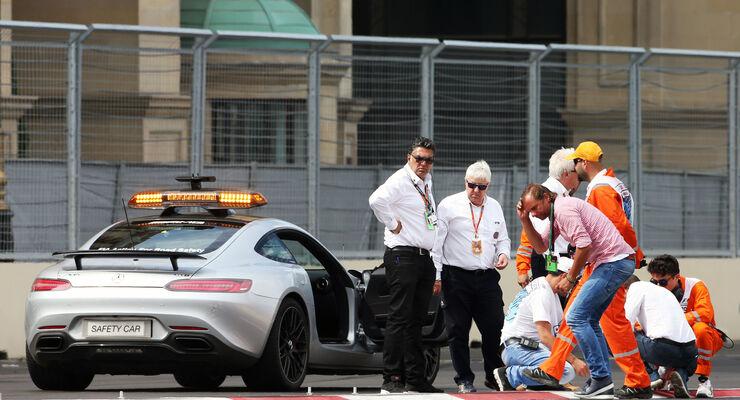 FIA-Rennleiter Charlie Whiting - Formel 1 - GP Aserbaidschan - Baku - 17. Juni 2016
