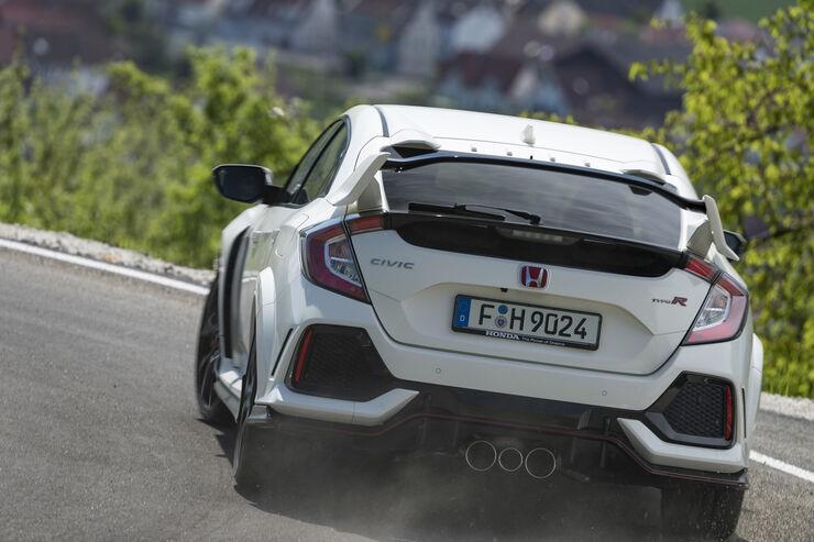 Fahrbericht Honda Civic Type R 2017 Daten Preise Technik Auto