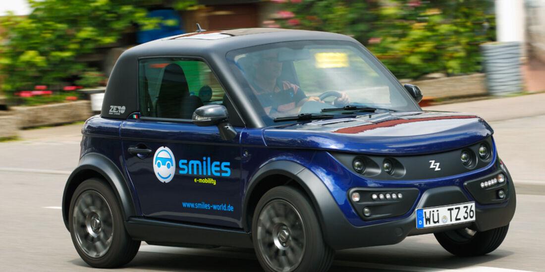 Fahrbericht Tazzari Zero SE, Mikrokosmos, Elektroautos