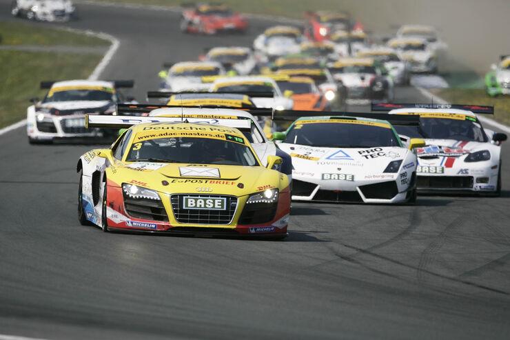 Fahrerfeld bei den ADAC GT-Masters