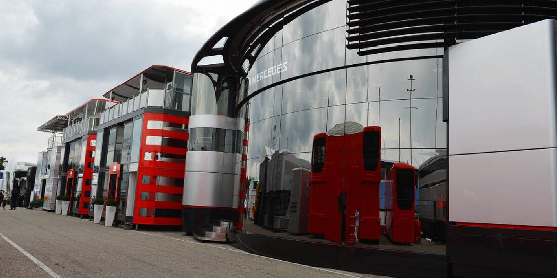 Fahrerlager - Formel 1 - GP Deutschland - 19. Juli 2012