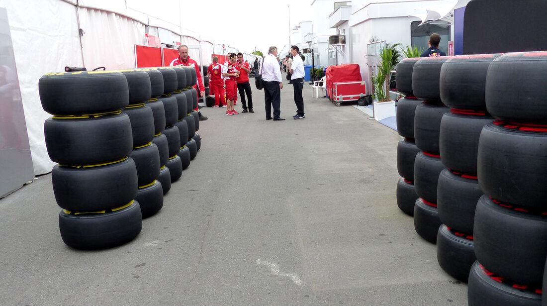 Fahrerlager - Formel 1 - GP Kanada - Montreal - 5. Juni 2014