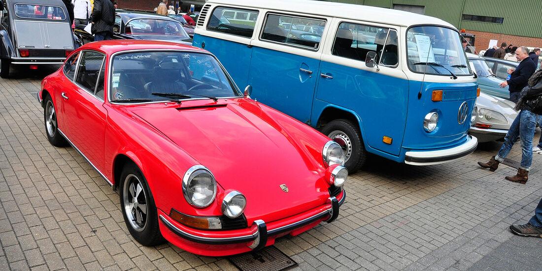 Fahrzeugmarkt der Techno Classica 2014