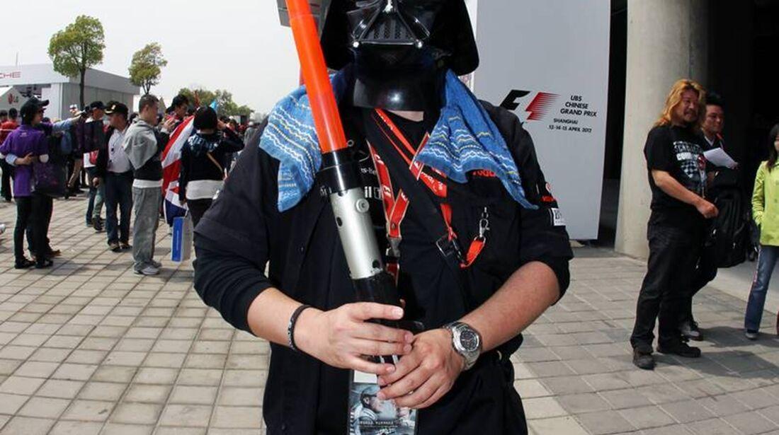 Fan  - Formel 1 - GP China - 15. April 2012