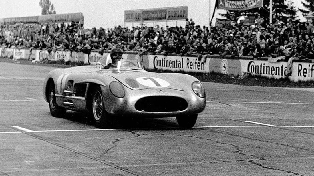 Fangio Eifelrennen 1955 Mercedes