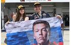 Fans - Daniil Kvyat - Formel 1 - GP Russland - 30. April 2016