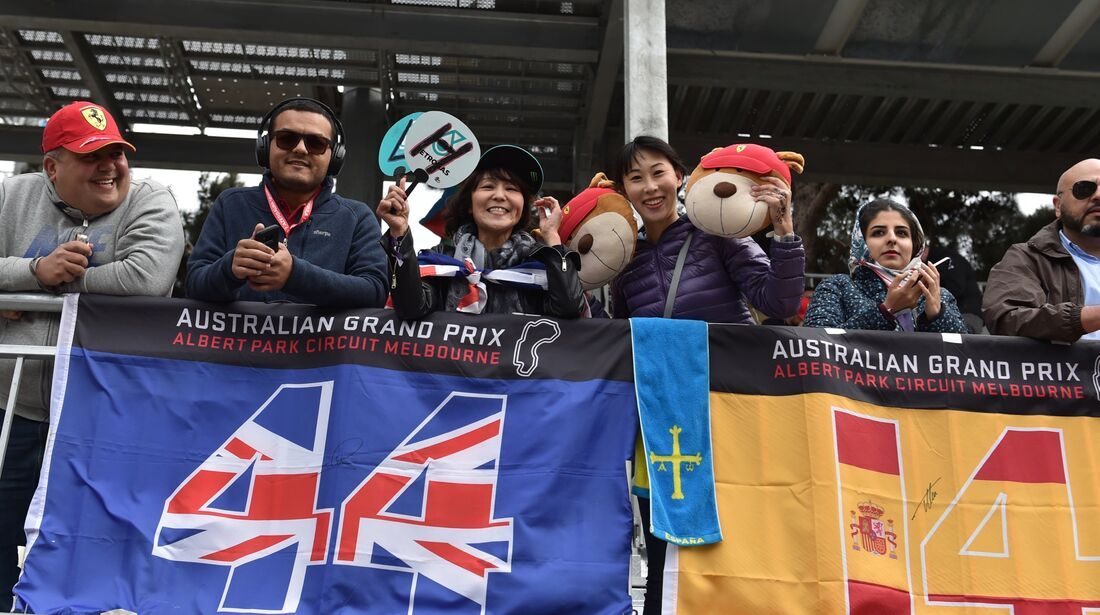 Fans - Formel 1 - GP Aserbaidschan - 29. April 2018