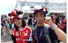 Fans - Formel 1 - GP Japan - Suzuka - 26. September 2015