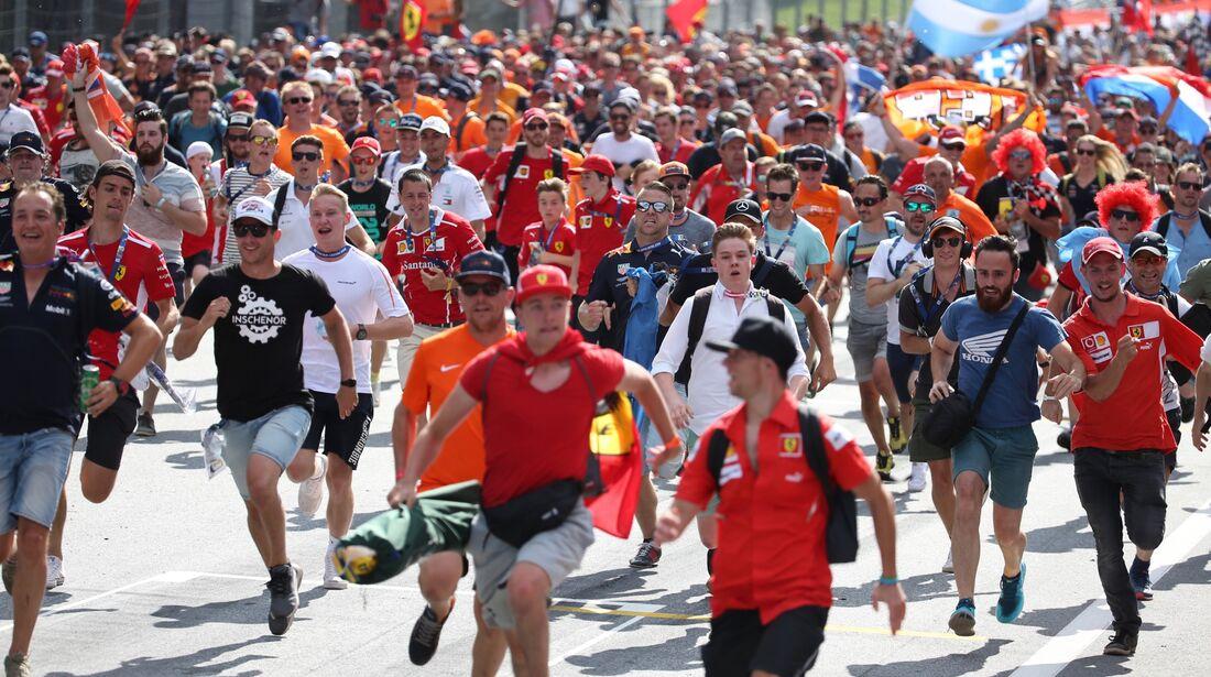 Fans - Formel 1 - GP Österreich - 1. Juli 2018