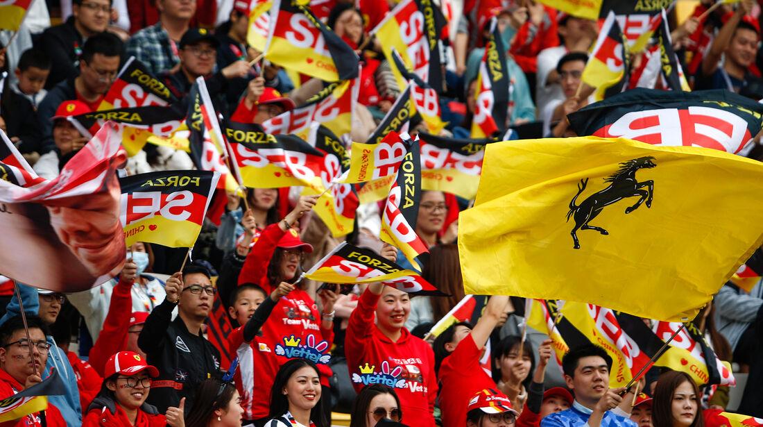 Fans - GP China - Shanghai - Samstag - 13.4.2019