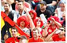 Fans - GP Italien - Monza - Freitag - 4.9.2015