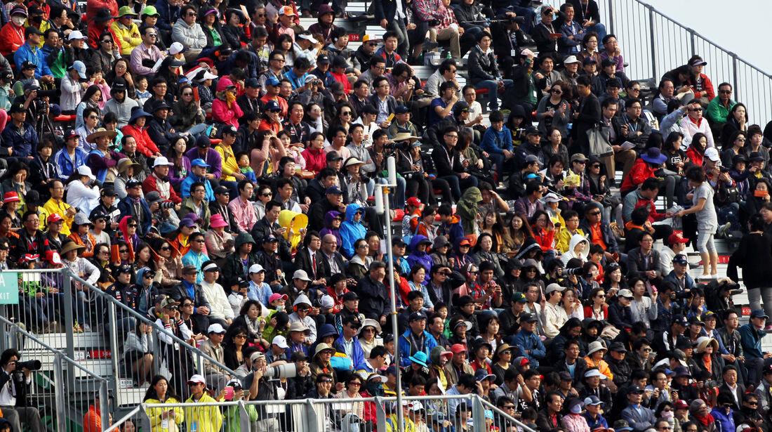 Fans GP Korea 2012