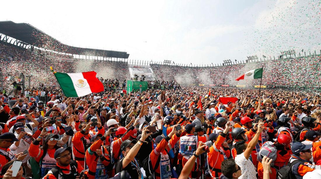 Fans - GP Mexiko 2017 - Rennen